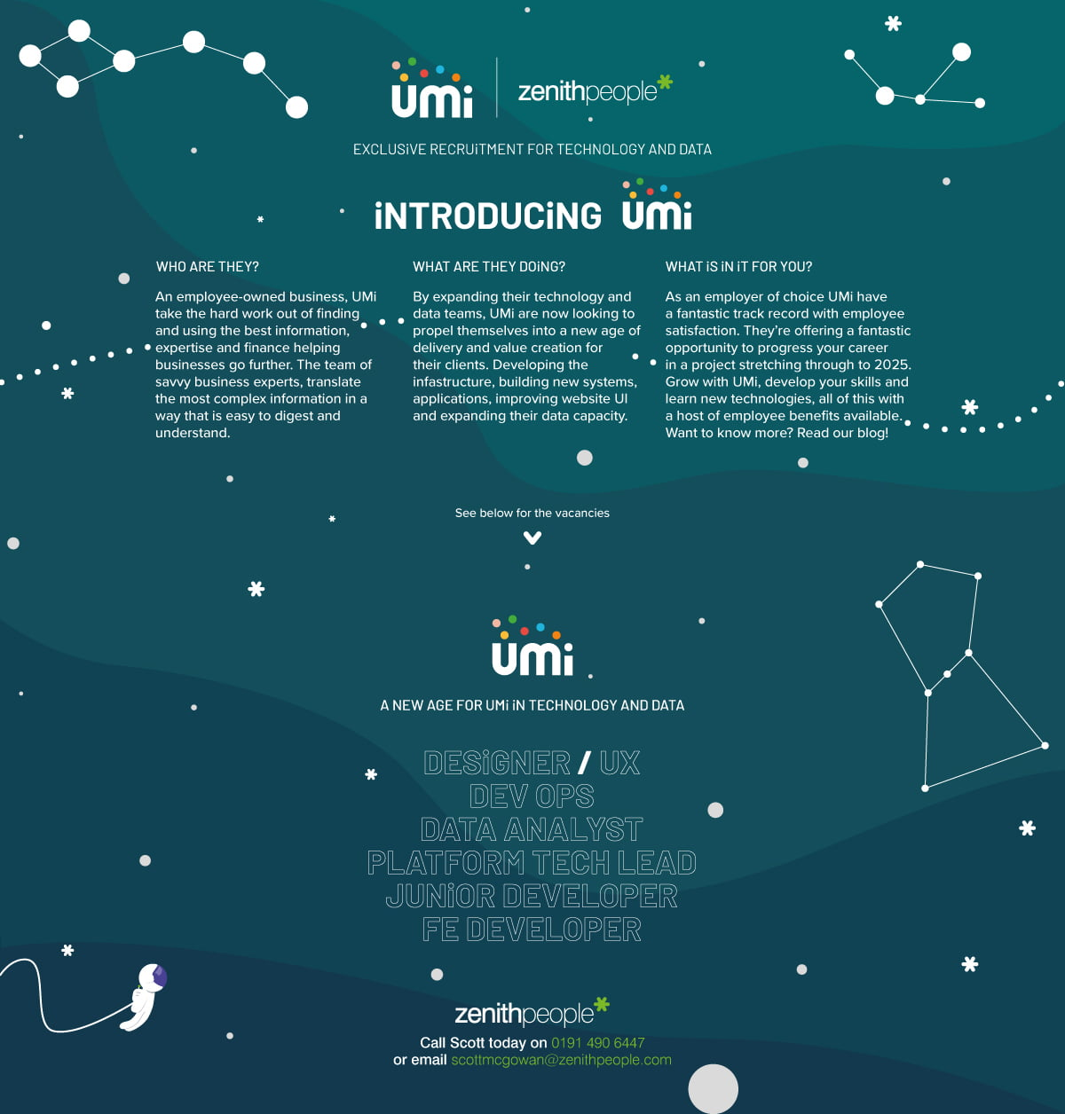 Introducing UMi information on who UMi are and the roles available